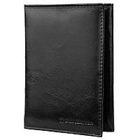Мужской кожаный органайзер для документов  с отделениями для пластиковых карт и визиток always wild (ОЛВЕЙС ВАЙЛД) dnkpal50-cfl-nl-black