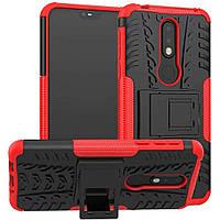 Чехол Armor Case для Nokia 7.1 Красный