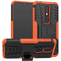 Чехол Armor Case для Nokia 7.1 Оранжевый