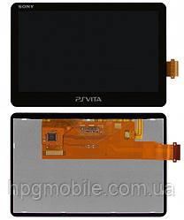 Дисплейный модуль (дисплей + сенсор) для игровой приставки Sony PSP 2000 Vita, оригинал