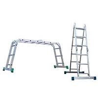 Лестница трансформер шарнирная 4-секционная 4х3 AXIAL, Венгрия