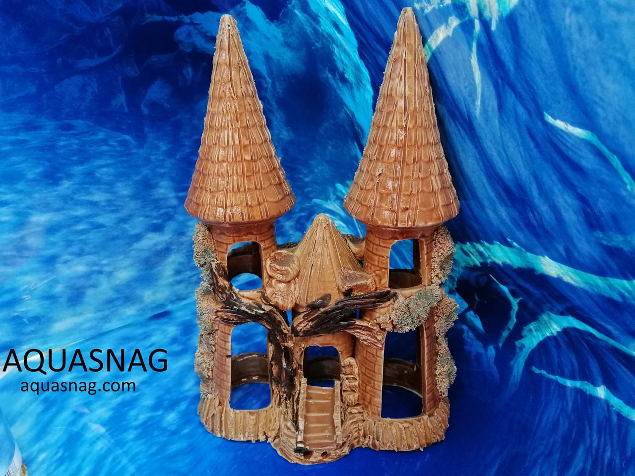 Замок тройной большой,  дл 18см, шир 10см, выс 28см