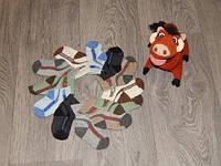 Носки детские до  годика упаковка 12 шт