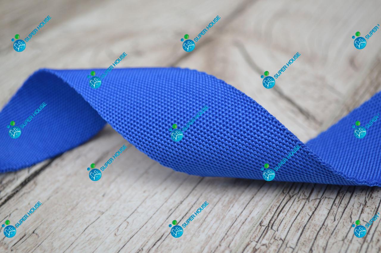 Лента ременная/40мм/светло-синяя/арт. 4092