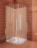 Душевая кабина Koller Pool Tower Line Design plus TR2/900 профиль хром, стекло прозрачное-printing