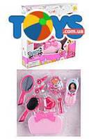 Набор игрушечных аксессуаров для девочки, с сумочкой, телефоном, BE085