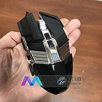 Игровая мышка Zornwee Equipment Master GX20 LED подсветка Gaming USB 2.0 геймерская и компьютерная черная мышь, фото 1