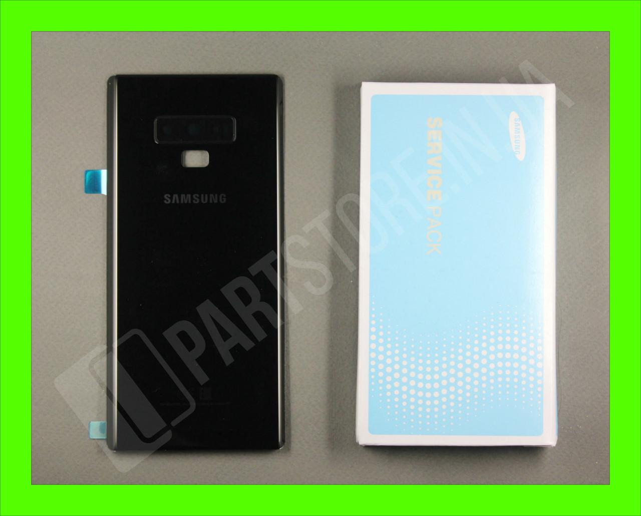 Cервисная оригинальная задняя Крышка Samsung N960 Black note 9 (GH82-17071A)