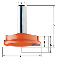 Комбинированная универсальная фреза CMT 25,4х12,7хмм хв.8мм (арт. 955.008.11)
