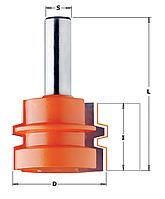 Комбинированная универсальная фреза CMT 44,4х32хмм хв.12мм (арт. 955.501.11)