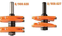 Комплект наборных фрез CMT 75х34,9х4,76-9,5мм хв.12мм (арт.900.627.11)