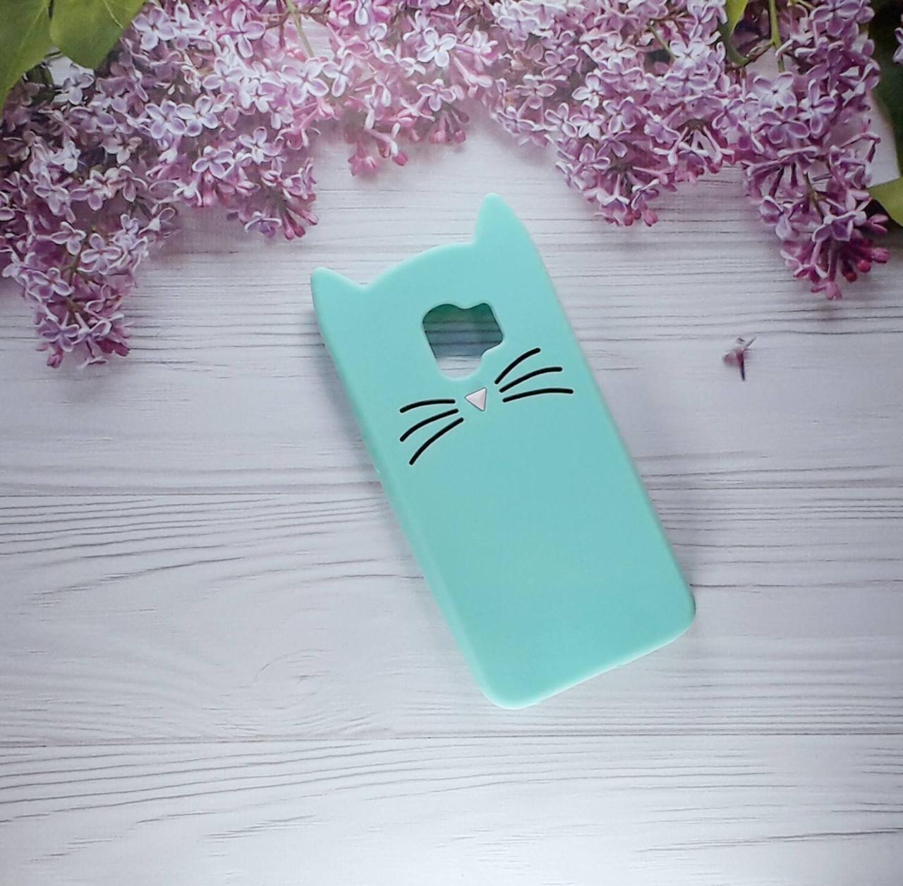 Чехол Cat для Samsung J2 (2018), J250, Green