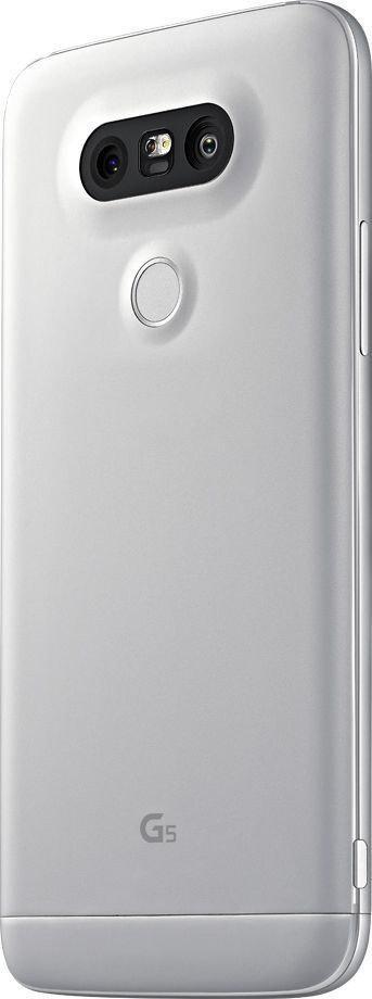 Задняя крышка LG H820 G5/H830/H840/H850/US992/VS987, серебристая, Оригинал