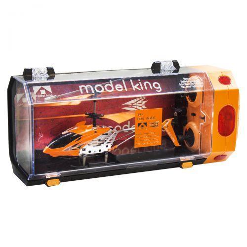 """Вертолет на радиоуправлении """"Model King"""" (оранжевый) 33008"""