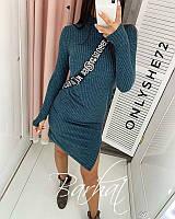 Женское платье ангора софт бутылка 42-44 44-46, фото 1