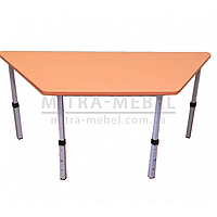 Детский стол трапециевидный 1020*450*h