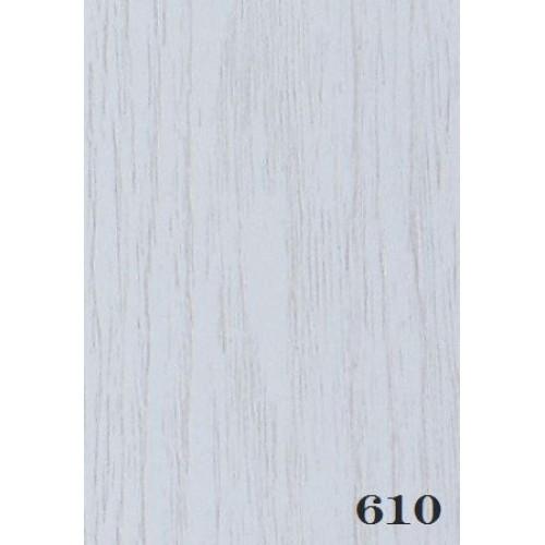 Дверь гармошка глухая ЭЛИТ, 610 белый ясень, 880х2030х10 мм
