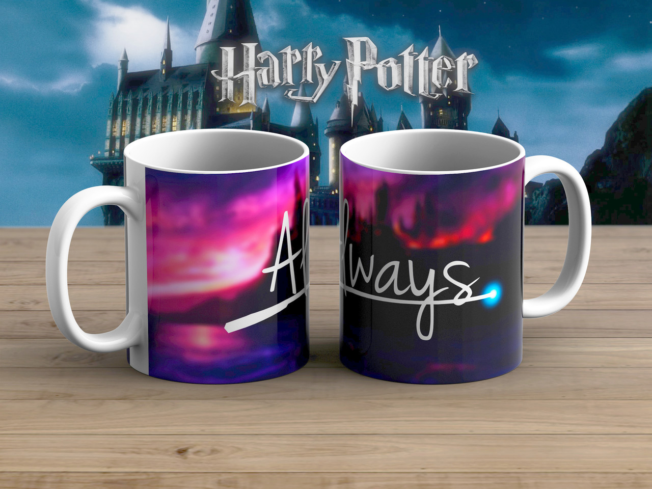 Чашка Гарри Поттер / Harry Potter розовая