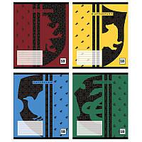 Школьные тетради Набор 4 шт Harry Potter 18 листов, клетка