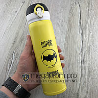 Детский термос термокружка с поилкой Super Heroes Batman супергерои бэтмен
