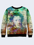 Свитшот женский Пушкин арт, фото 2