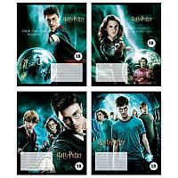 Школьные тетради Набор 4 шт Harry Potter 18 листов, линия