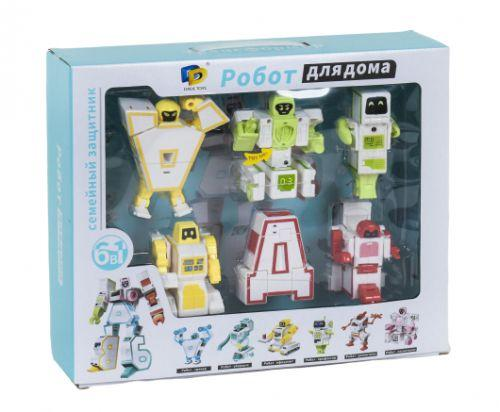 """Набор букв - трансформеров """"Робот для дома"""" D622-H091"""
