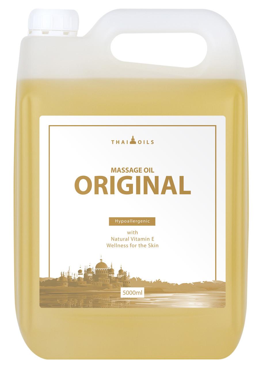"""Профессиональное массажное масло """"Original"""" 5 литров (Нейтральное) для массажа"""