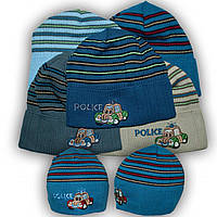 Детская шапка 46-48 размер Польша весна-осень