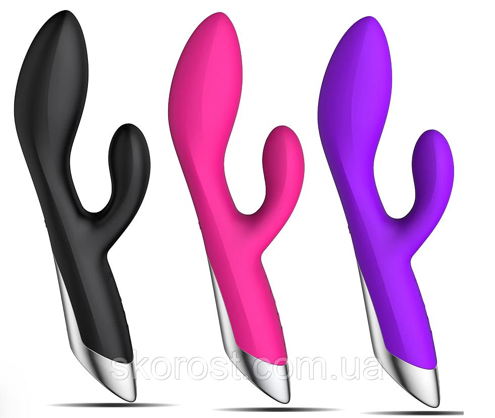 Вибратор двойной G-spot USB