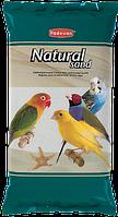 Padovan (Падован) Natural Sand Гигиенический кварцевый наполнитель для птичьей клетки 5 кг
