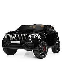 Детский электромобиль Джип Bambi M 4177EBLRS-2 Mercedes Лак EVA кожа 4WD 140W 139см