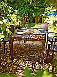 Стол садовый уличный Keter Melody Brown ( коричневый ) из искусственного ротанга, фото 6