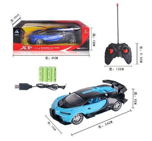 Машина на р/у 34-6 С синий. 34-6C