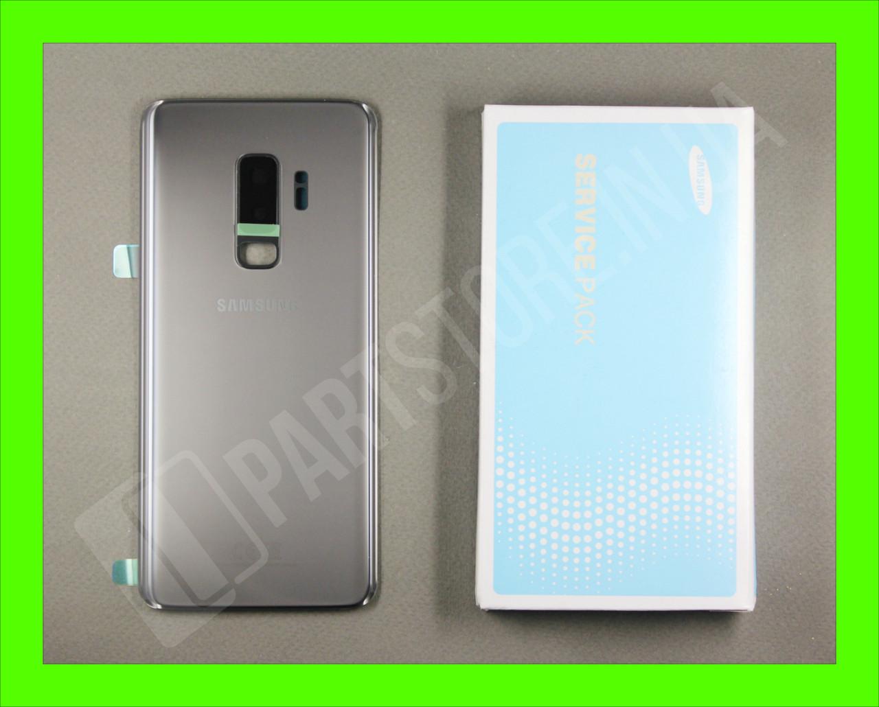 Cервисная оригинальная задняя Крышка Samsung G965 Grey S9 Plus (GH82-15724C)