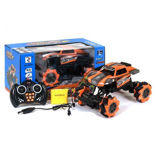 """Машинка на радиоуправлении """"Racing Car"""" на роликовых колесах (оранжевая) ZR2086-1"""