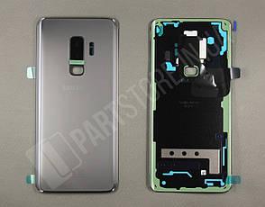 Cервисная оригинальная задняя Крышка Samsung G965 Grey S9 Plus (GH82-15724C), фото 2