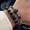 Мужской каменный браслет mod.Goldman комплект браслетов