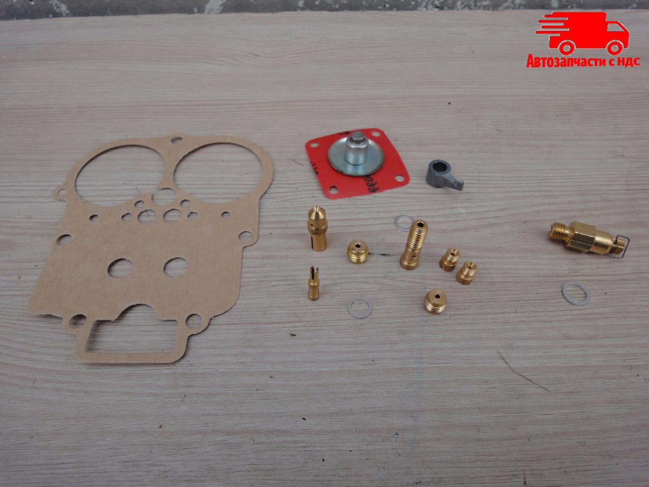 Ремкомплект карбюратора ВАЗ 2103 (1,5л), 2106 (1,6л) (17 ед.) (ПЕКАР) К2107-1107980-10