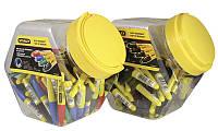 """Маркер-мини """"Stanley®"""" с заостренным наконечником (черные, синие, зеленые, красные, контейнер 72шт.)"""