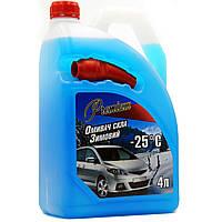 Жидкости для стеклоочистителя -25 4л (с лейкой) TOP Gear