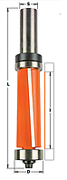 Обгонная фреза с верхним и нижним подшипником CMT 19х25,4мм хв.12мм (арт. 906.691.11B)