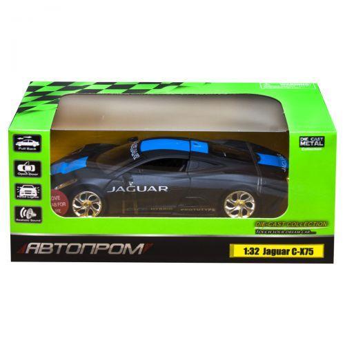 """Машинка """"Jaguar C-X75"""" из серии """"Автопром"""" (черная) 68399"""
