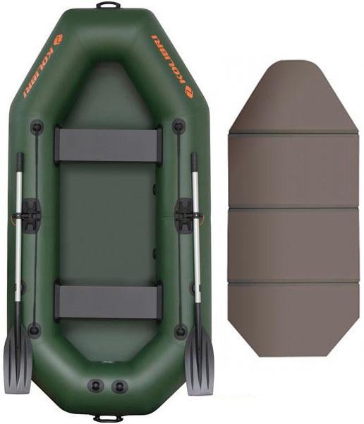 Надувная лодка Kolibri K-260T-SKN слань-книжка