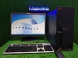 "Комплект Lenovo M55, 2 ядра, 4 ГБ ОЗУ, 80 Гб HDD + монитор 22"" Lenovo , Полностью настроен!, фото 3"