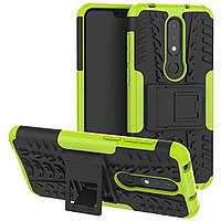 Чехол Armor Case для Nokia 6.1 Plus (X6) Лайм