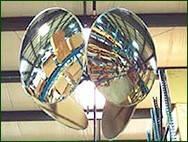 Зеркало обзорное сферическое круглое D=600 мм
