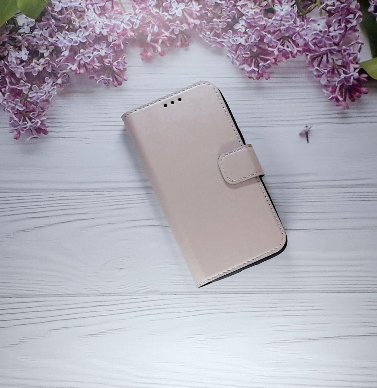 Чохол - книжка (з візитницею) для Samsung J2 (2018), J250, Powder