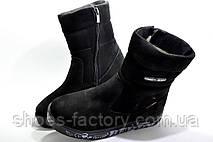 Зимние сапоги в стиле Tommy Hilfiger, Black, фото 2