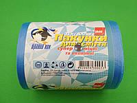 Сміттєвий пакет 35литров (100шт) Супер міцні (сині) (1 рул)